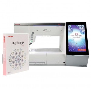 Maszyno-hafciarka JANOME MC15000 + Program hafciarski JANOME DIGITIZER JR