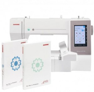 Hafciarka JANOME MC550E + ARTISTIC JR + upgrade ARTISTIC DIGITIZER