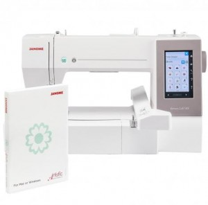 Hafciarka JANOME MC550E + ARTISTIC DIGITIZER JR